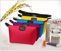 Wholesale Women Cosmetic bag senior waterproof nylon candy Lady s cosmetic organizer bags