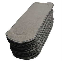 Wholesale New Korean layers Bamboo Charcoal inserts Baby Changing Pads pc