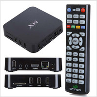 Wholesale Amlogic MX Dual core Smart Google Android TV Box WIFI Android GB RAM GB ROM XBMC installed