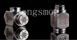 Wholesale E Quake Hammer Mod Electronic Cigarettes Mechanical Mod E Cigaratte Stainless Steel Mech Mod fit battery E Cig Mod