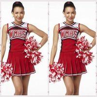 achat en gros de costume cheerleader-HotSexy Cheerleaders Cosplay Role Play Femmes Club Wear Haute Qualité Party Play Hip-Hop Brand Mode Costumes Livraison gratuite
