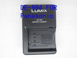 Wholesale DE DE B Battery Charger for Panasonic LUMIX Camera CGA S002E CGR S006E S002 S006 S006e FZ7 FZ8 FZ18 FZ28 FZ35 FZ5