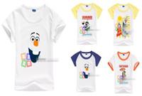 New Arrival 2014 Summer Children Tshirts Frozen Olaf Pattern...