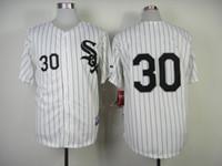 Free Shipping #30 Deaza White Black Pinstripe 2014 Baseball ...