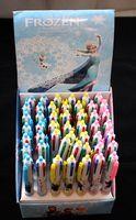 Wholesale 48pcs new colors frozen anna elsa cute ballpoint pen office school supplies