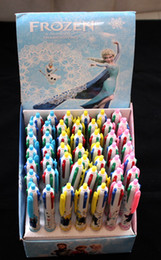 Wholesale 48pcs new colors frozen anna elsa cute ballpoint pen office school supplies