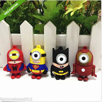 Wholesale new arrival superhero superman batman spiderman etc real gb gb gb gb gb USB flash memory stick Pen drive usb thumb drive Udisk