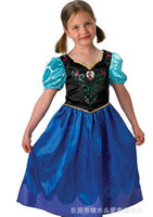TuTu Summer A-Line samgamibaby Frozen Anna Deluxe Girl's Costume short sleeve dress