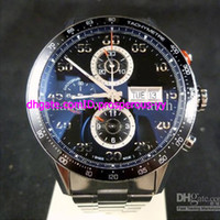 automatic wat - Luxury Calibre Movement mm Black Dial Mens Chronograph Watch Stainless Steel Day Date Automatic Men s Wrist Wat