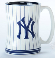 Wholesale 2014 New York baseball jersey creative theme Mugs mark cup glass ceramic cup