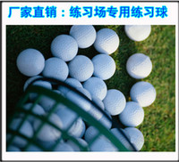 70 golf ball - 50PCS High Quality Golf Balls golf exercise ball Training Aid Double Game Ball Blank Bee Hole Synthetic rubber surlyn A