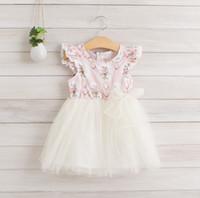 New Arrival 2014 Summer Children Girls Dressing Little Sleev...