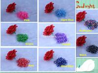 rubber band rainbow loom - camo polka round dots colors Refill Neon Rainbow Loom rubber Bands Kit DIY Wrist Bracelet bands s clips