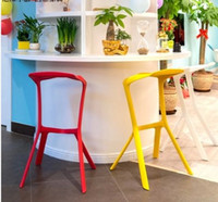 Wholesale Miura Stool Bar Pub Chair for Disco Club Outside Library Party Price Color White Black Red Orange