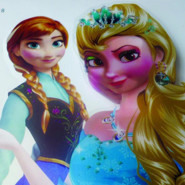 Freies ems vorrätig 2014 3d gefrorene elsa princess wandaufkleber ...