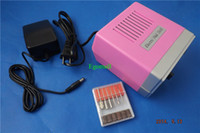 Wholesale Professional Electric Nail Drill Manicure with Nail Bits Foot Pedal V EU plug H839