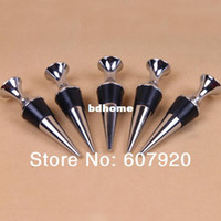 Bar Tools air parcel post - china post air parcel zinc alloy wine stopper bottle stopper vacuum wine stoppe champange stopper