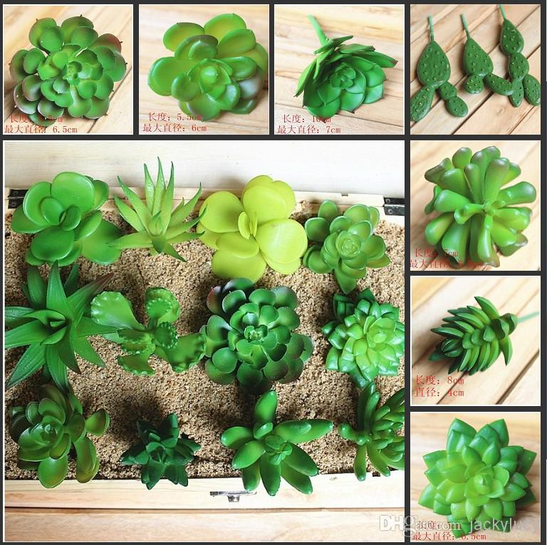 Zakka Simulation Of Artificial Potted Plants Succulents Mini Decorative Artificial Flowers For Novelty Home Decor Free
