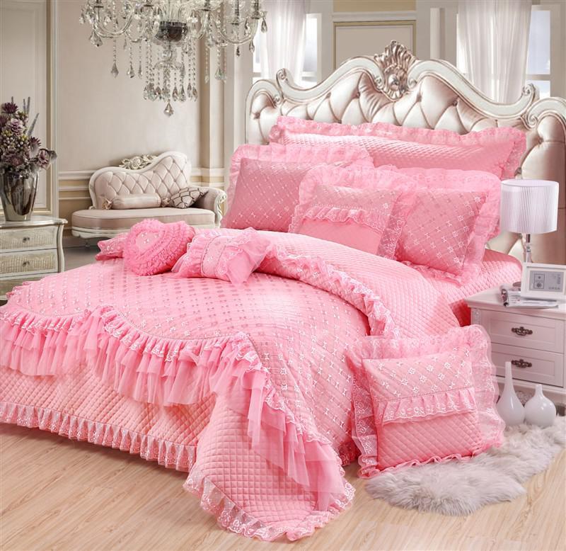 European style home textile wedding bedding 100 cotton for European beds for sale