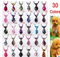 Wholesale New Dog Bow Tie Pet Accessories Pet Tie fashion trend essential pet dog tie colors