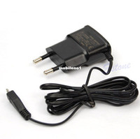 Wholesale EU Plug Micro USB Travel AC Wall Charger Adapter For Samsung Galaxy S3 S4 Note2