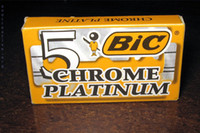 bic razors - Hongkong post blades packs Classic BIC Chrome Platinum double edge razor blades