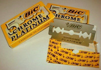 bic razors - hot sale blades packs Classic BIC Chrome Platinum double edge razor blades