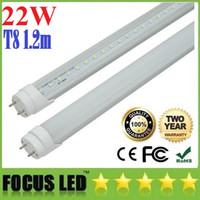 T8 22w SMD 2835 22W 1.2m 4ft Led T8 Tube Lights 2000 Lumens Warm Natural Cool White SMD Led Fluorescent Lamp AC 110-240V + CE ROHS UL FCC + Warranty 3 Years