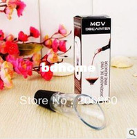 Wholesale MCV Aerator Wine Decanter RETAIL BOX wine accessories Filter Air intake Pour Pourer