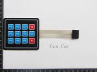avr panel - 10 x3 Matrix Array Key Membrane Switch Keypad Keyboard Control Panel Microprocessor Keyboard for Arduino AVR
