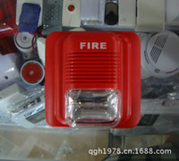 Wholesale hot sale Fire Siren V engines Siren sound and light flashing fire alarm Fire FIRE