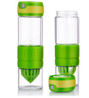 Wholesale Fashion New pc Travel mugs Arrival Korea vitality bottle Juicer fruit cups mugs Stainless Steel Lip