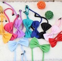 Wholesale New Pet Bow Tie Pet Cats And Dogs bow tie a bow tie Collar flower tie