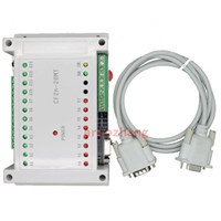 Wholesale 20MT in out PLC with RS232 by Mitsubishi FX2N Gx developer With data cable