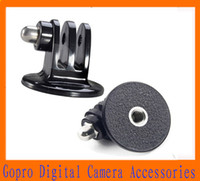 Wholesale GoPro Tripods Mount Adapter For Hero HD Hero2 Hero3 Outdoor Action Camera Accessories Monopod