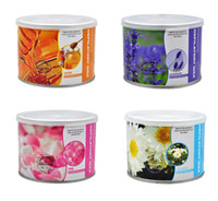 Wholesale 4 Different Flavors ml Roller Hot Depilatory Wax Can Heater Waxing Hair Removal Cream Salon