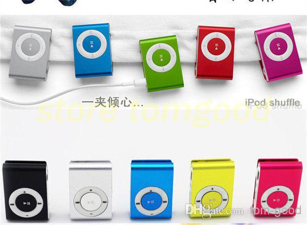 Buy MP3 Players clip mp3 music player card slot mini