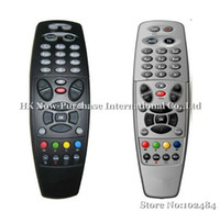 Wholesale New Arrival Remote Control for DreamBox DM800 HD Pro Satellite Receiver black and silver amp Drop Shipping
