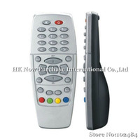 Black/Silver dreambox receiver - Cheapest Remote control for Dreambox DM500 satellite receiver silver and black Drop Shipping