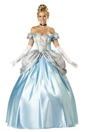 Wholesale 2014 Fashion New women sexy costumes Hallowmas costume snow white Cosplay party stage wear game uniform Sissi Cinderella maxi dresses
