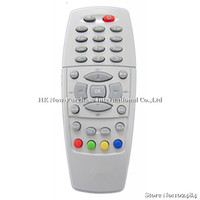 Wholesale X10 Remote control for Dreambox DM500 DM500S DM500C satellite receiver silver and black Drop Shipping