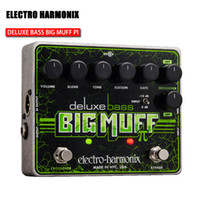 Wholesale ELECTRO HARMONIX XO DELUXE BASS BIG MUFF Bass Fuzz filtering a single block of DI