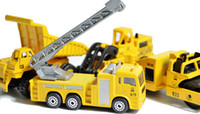5-7 Years Truck Metal Mini Metal Alloy Diecasts & Toy Vehicles Crane Hoist Lift Road Roller Grab Digger Excavator Dump Truck Dumper Lorry Engineer