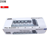 Wholesale ZOOM G5 pedal tube guitar multi effects
