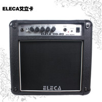 Eleca / Eric card acoustic bass amplifiers - Eleca Eric dinosaur cards DG Watt Guitar Amplifier DG20 electric box guitar acoustic bass guitar