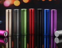 Wholesale Cheap mAh Portable Cylinder Power Bank External Backup Battery Charger Emergency Power Pack for all Mobile Phones Travel Banks Chargers