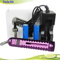 Lavatube Prix-Vapeur variable de tension variable ecig 2200mAh Tesla VV 3.0v-6.0v <b>Lavatube</b> Vaporisateur Tesla Mod kit Cigarette électronique