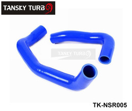 2017 nissan radiator hose Tansky -Silicone Intercooler Turbo Radiator Hose Kit For Nissan Skyline R33 R34 GTS GTT GTS-T RB25DET 94-01 (2pcs) TK-NSR005 cheap nissan radiator hose