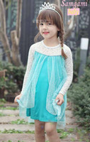 In stock Fashion Frozen Princess Anna Elsa Sofia long sleeve...