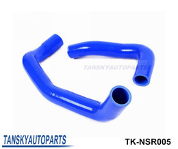 Discount nissan radiator hose Tansky -Silicone Intercooler Turbo Radiator Hose Kit For Nissan Skyline R33 R34 GTS GTT GTS-T RB25DET 94-01 (2pcs) TK-NSR005